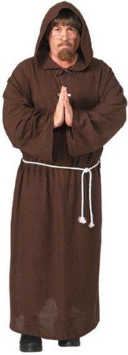 Friar Tuck Renaissance Monk Costume - Extra