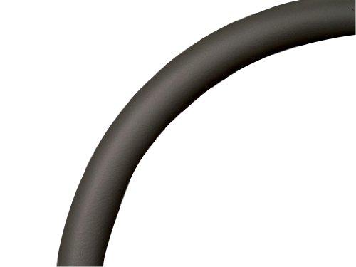 (Billet Specialties 29004 Dark Gray Leather Half Wrap Steering Wheel)