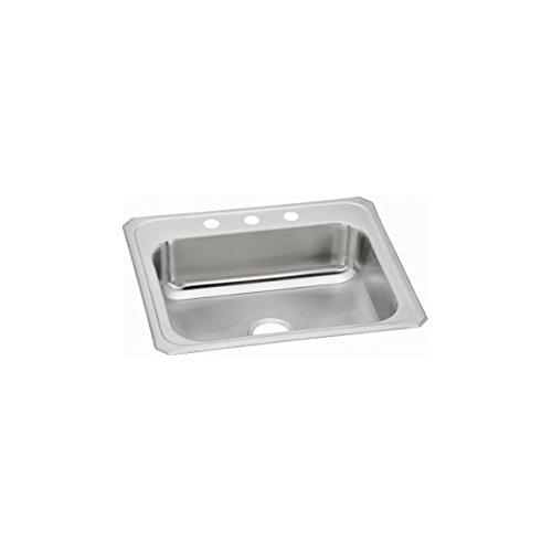 Elkay Celebrity CR25214 Single Bowl Top Mount Stainless Steel Sink ()