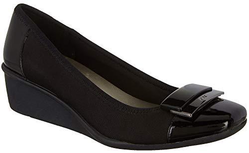- Anne Klein Women's Waverly Black Multi Fabric 8 M US