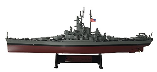 USS Massachusetts (BB-59) 1941 - 1:1000 Ship Model (Amercom ST-3)