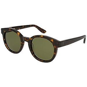 Yves Saint Laurent sunglasses (SLM-15 002) Dark Havana - Grey green lenses