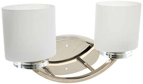 Progress Lighting Lucky Collection 4 Light Brushed Nickel: Progress Lighting P2013-104 Nisse Collection 2-Light