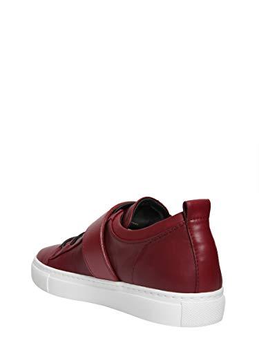 Pelle Fwskpk01napaa18391 Donna Lanvin Rosso Sneakers Z70xwx