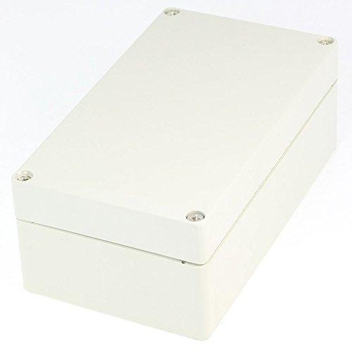 R TOOGOO 158mm x 90mm x 60mm Impermeable Sostenedor Caja de conexiones de recinto de plastico Caja de conexiones