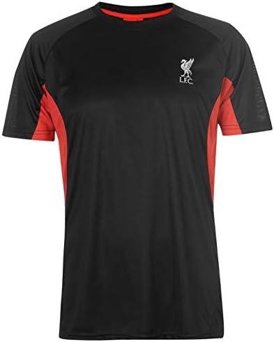 リバプール ポリTシャツ メンズ フットボール サッカー ファン トップ Tシャツ