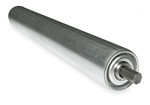 1.9In Dia KG49 AB1 49BF Ashland Conveyor Galv Replacement Roller