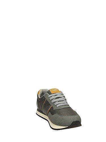U.S.POLO ASSN. Scarpe Uomo US Polo Sneacker NATTS canvass Grigio E Cuoio U17UP10