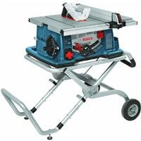 Bosch 10-Inch Worksite Table Saw 4100-09 with Gravity-Rise Wheeled Stand; Portable Table Saw...