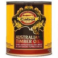 Cabot Australian Oil Timber (Cabot 04-3457 3457 Oil Penetrating formula 1 quart Amberwood)