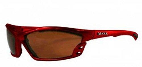 MaxxHD Sun Glasses Cobra Red Body Adult Sun - Glasses Road Frames Country