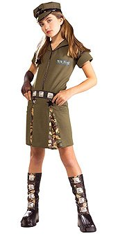 Child Major Flirt Costume-Large -