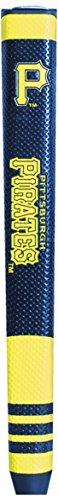 (Team Golf MLB Pittsburgh Pirates Golf Putter Grip with Removable Gel Top Ball Marker, Durable Wide Grip & Easy to Control )