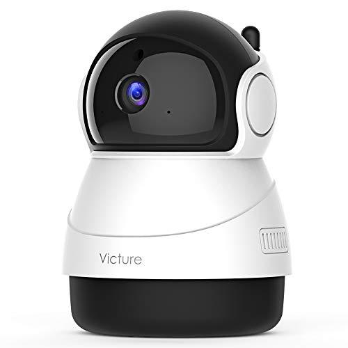 2021 Versión Victure 1080P Cámara Vigilancia WiFi Interior, Visión Nocturna, Detección de Movimiento y Sonido, Audio de 2 Vías a buen precio