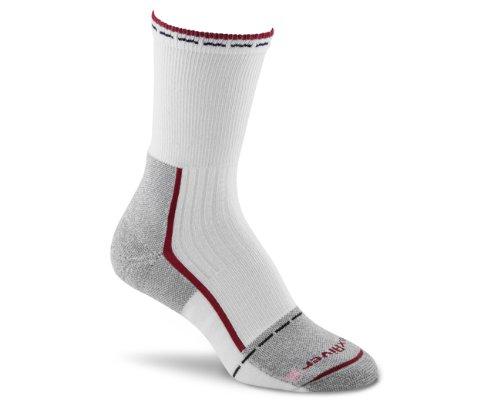 Fox River Women's Her Steel-Toe Crew Socks, Berry, Medium