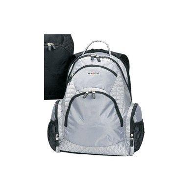 Rave iPod/MP3 Player Backpack Color: Platinum