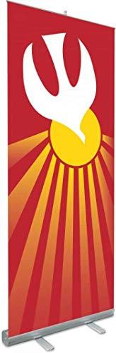 Religious Supply Center Roll-up Banner Pentecost, Holy Spirit