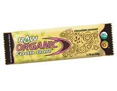 Organic Food Bar OFB Raw Coconut Bar 50g - CLF-OFB-1003 b...