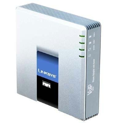 Voip 2-Port Fxs Analog Adapter by Cisco