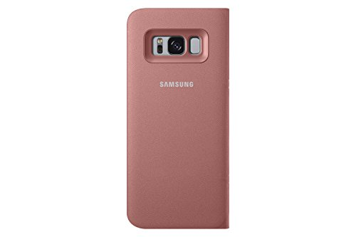 Genuine Samsung LED View Cover Flip Wallet Case for Samsung Galaxy S8 Pink EF-NG950PPEGWW