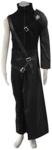 Cloud Strife Sword (DAZCOS Adult US Size Dark Cloud Strife Cosplay Costume With Shoulder Armor (Large))
