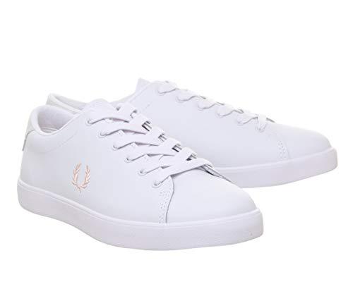 Bianco Sneaker Fred Perry Lottie Donna Leather pRPXI