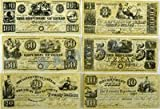 Texas Banknotes Set