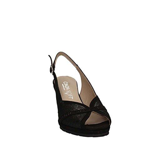 cg Cinzia Compensées Noir Sandales Iab511044 Femmes Soft RqqSwEv