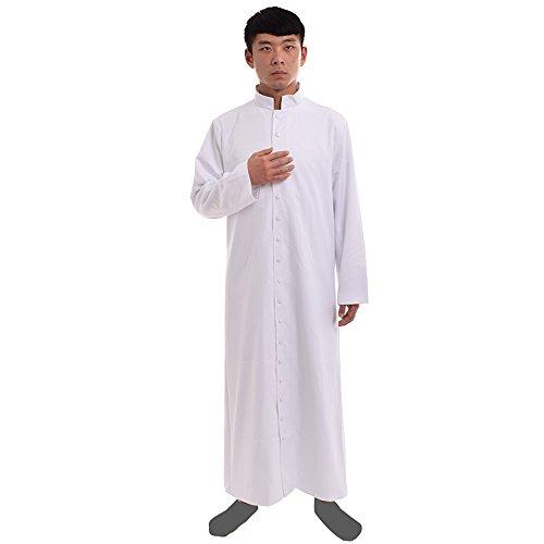 Liturgical Vestments (BLESSUME Roman Cassock Robe Liturgical Vestments)