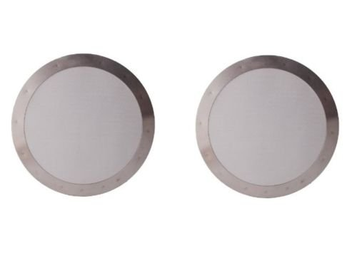 2 Ultra Fine Stainless Steel Coffee Filter for AeroPress