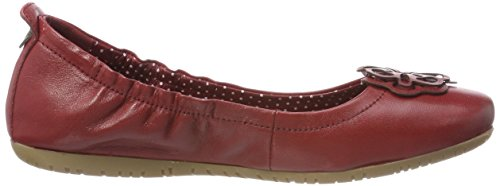 Kickers Ladies Rommy Closed Ballerinas Red (rouge)