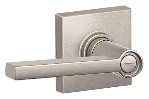 Schlage J40SOL619COL Solstice Privacy Door Lever Set with Decorative Colton Trim from The J-Series