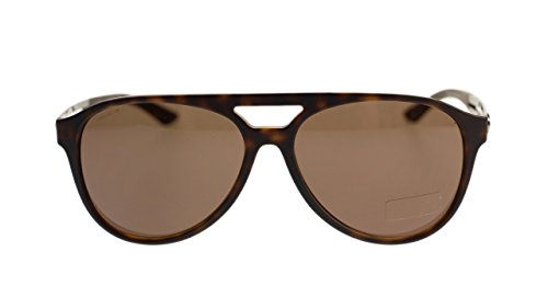 Versace Mens Sunglasses VE4312 517473 Havana Rubber/Brown Lens 60mm - Versace Shades Dark