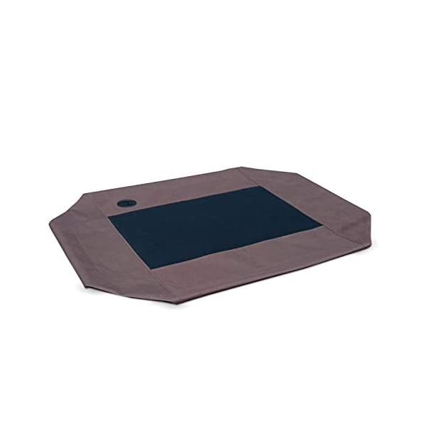 K&H Pet Products Original Pet Cot Replacement Cover, Chocolate/Mesh, Large