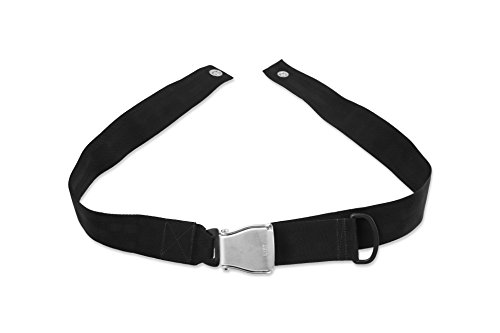 tage Positioning Belt Non - Padded, Airline Buckle, 60