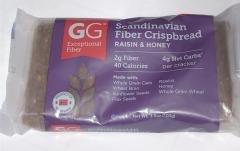 GG BRAN UNIQUE FIBER THINS & CRISPBREADS 3 PACKS (RAISINS & HONEY)