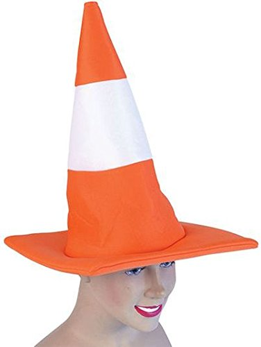 Traffic Cone Hat (Hats) - Unisex - One Size -