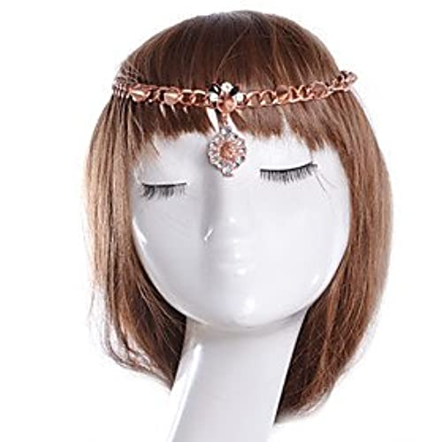 FLOW ZIG Alloy Headbands Wedding/Party/Daily/Casual/Sports 1pc