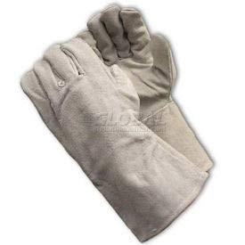 PIP Welder's Gloves, Shoulder Grade W/Cotton Lining, Gray, Left Hand Only, L (73-888LHO)
