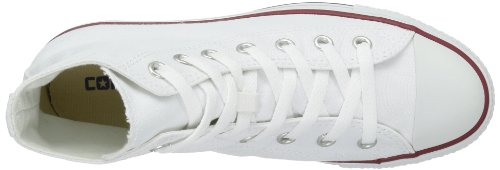 All Adulto Hi Weiß Unisex Altas Converse Star Chuck Zapatillas Blanco Taylor Core Optisches n11xAzEa