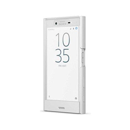 ソニー Xperia X Compact(SO-02J)用 ソニー純正 手帳型ケース フルウィンドウ付きスタイルカバータッチ(ホワイト) SCTF20JP/W