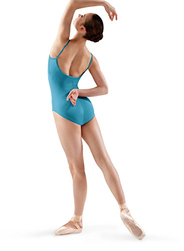 Bloch Dance Women's Nejor Microlux Camisole Leotard, Turquoise, Small