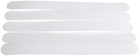 Queenwind 5Pcs 透明アンチスリップバストレッドステッカー接着剤ストリップパッドシャワーフローリング Safey テープ