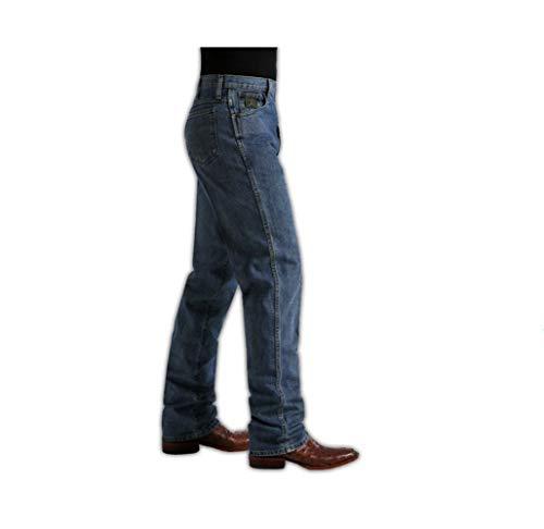 (Cinch Jeans Green Label Original Fit Jeans (32x34, Dark Stonewash 002))