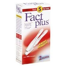 Fact Plus Pregnancy Test 2 CT (PACK OF 2)