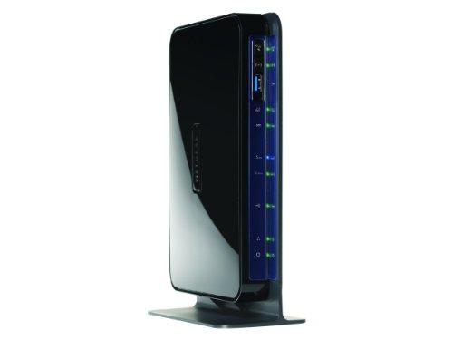 Netgear DGND3700B-100GRS N600 Modem-Router (ADSL2+ (Annex B), Dual-Band 5-Port Gigabit, 4x LAN, 1x WAN, 2x USB 2.0 ) - Nur für Deutschland