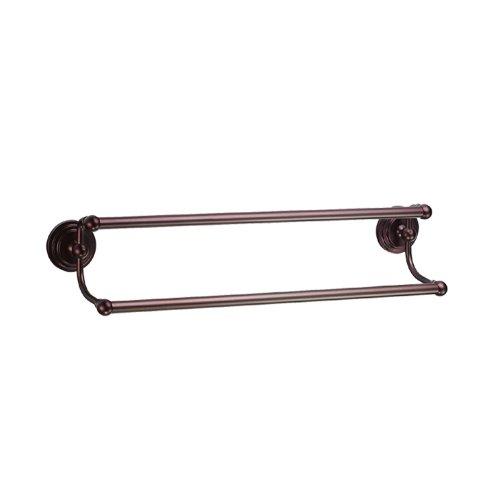 Gatco Bronze Towel Rack (Gatco 5833 Marina 5/8-Inch Diameter Double Towel Bar, 24-Inch, Bronze)