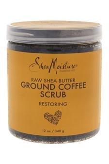 Shea Moisture Raw Shea Butter Ground Coffee Scrub By Shea Moisture For Unisex - 12 Oz Scrub by Shea Moisture
