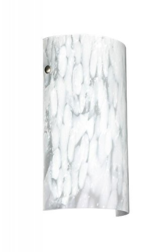 Besa Lighting 704219GO Tamburo 7 Collection Wall Sconce Replacement Glass, Carrera Art Glass (Ceiling Lighting Tamburo)