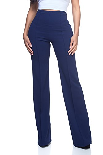 Women's J2 Love High Waist Bell Bottom Flare Pants, Small, ()